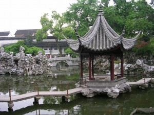 This charming city features numerous chinese gardens, wonderlands of stone, vegetation, and tranquil settings.