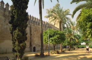Cordoba Alcazar Garden
