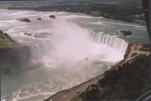 View of Niagara Falls from the Skylon Tower