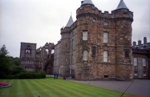 Palace at Holyroodhouse