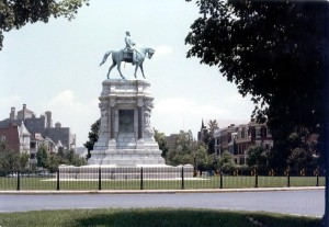 Lee Statue on Monument Ave