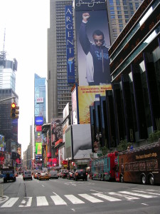Broadway at Times Square