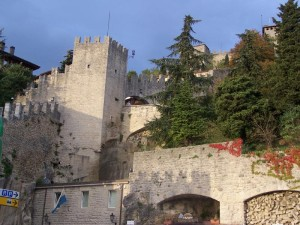San Marino walls