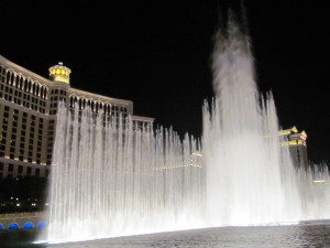 Water Ballet at Bellagio