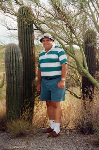 Gary with Cactus
