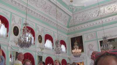 A Room in Peterhof Palace