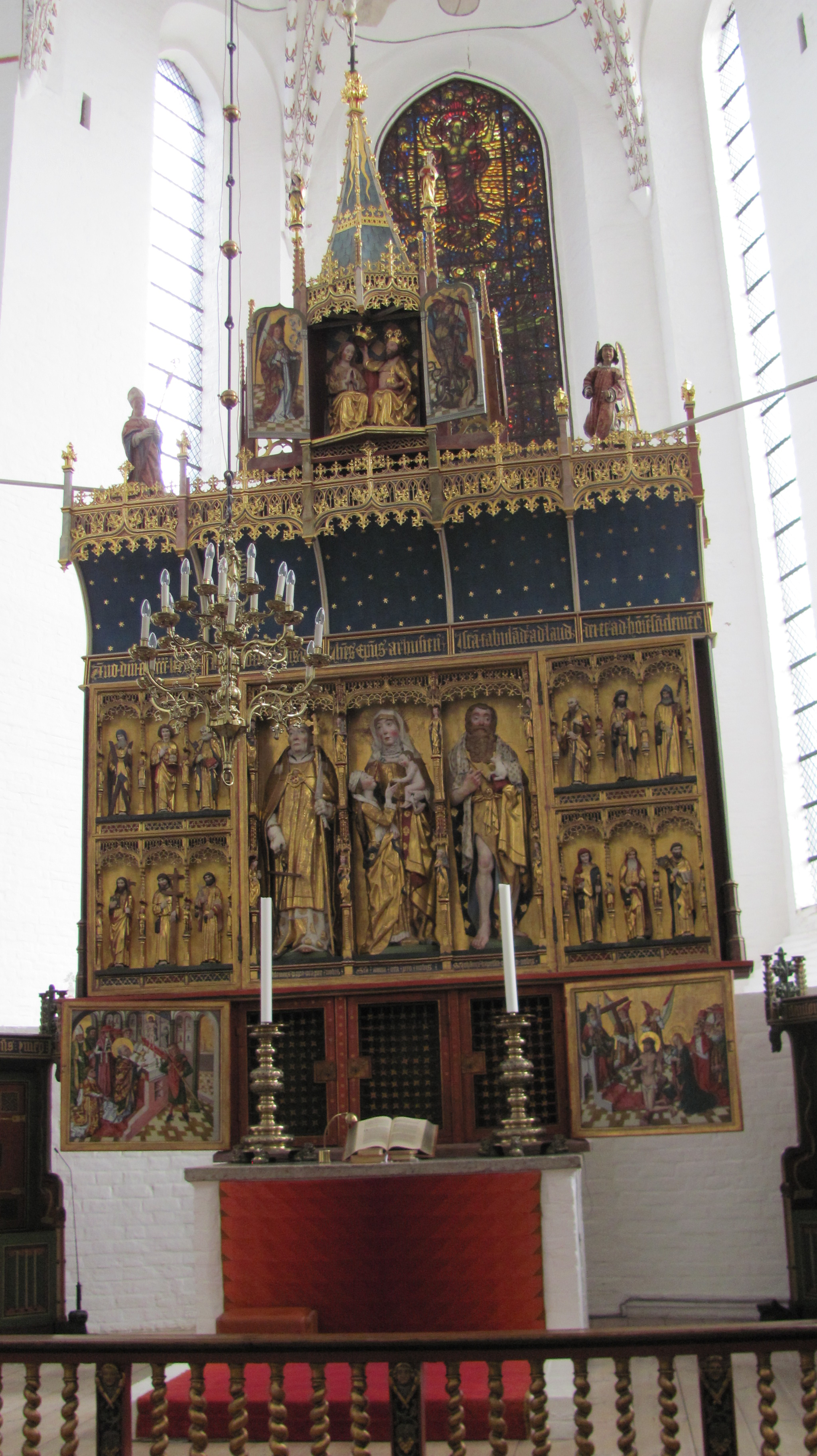 Altar of Aarhus Cathedral