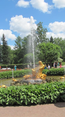 Triton Fountain at Peterhof