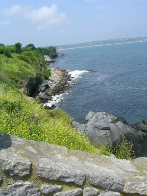 Along Cliff Walk
