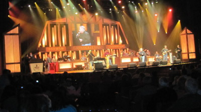 Bob Conlee at the Grand Ole Opry