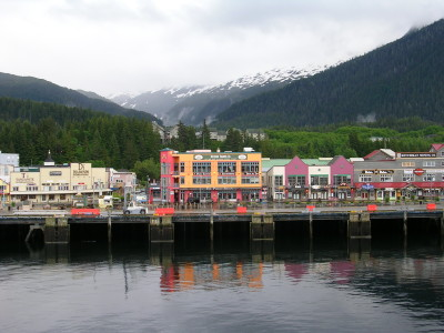Front Street, Ketchikan Alaska