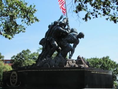 Iwo Jima Sculpture