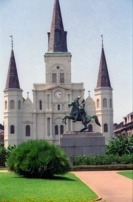 St Louis Cathedral & Jackson Square