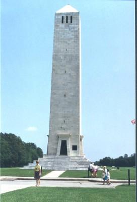 Chalmette Battlefield Monument