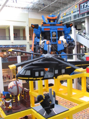 Legos in Mall of America