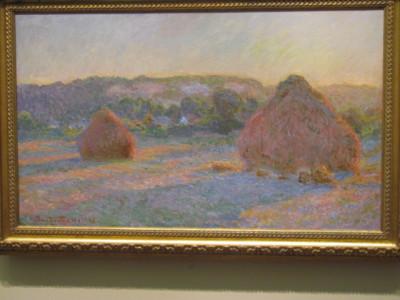 Monet's Haystacks