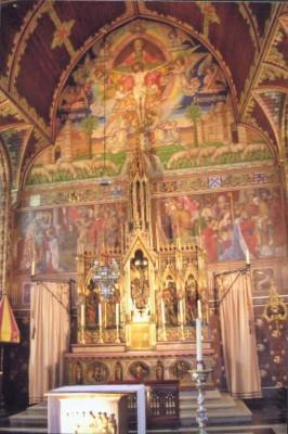 Precious Blood Church Altar
