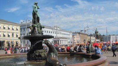 Havis Amanda Fountain on Market Square