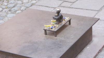 Iron Boy Statue