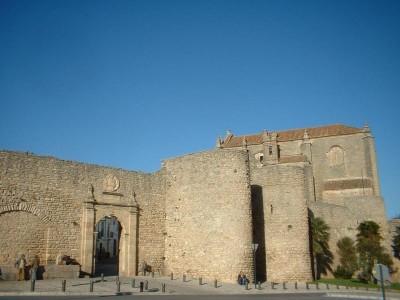 Walls of Ronda Spain