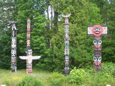 Totem Pole Park, Stanley Park