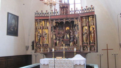 Triptych Altar, Holy Spirit Church