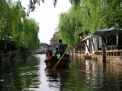 Zhouzhuang Boat Ride
