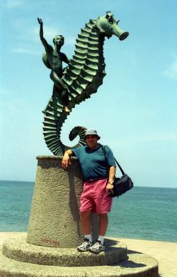Seahorse Sculpture