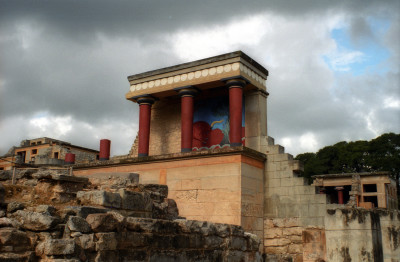 Knossos Palace section