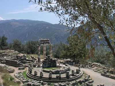 Sanctuary of Athena, Delphi