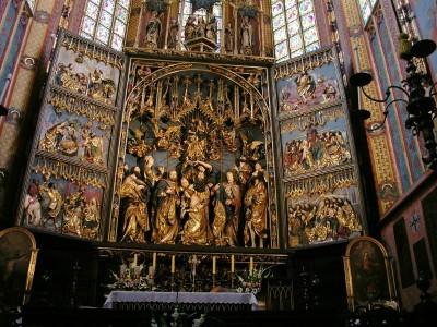 Altar, St Mary's Church