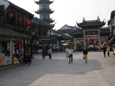 Square in Zhouzhuang