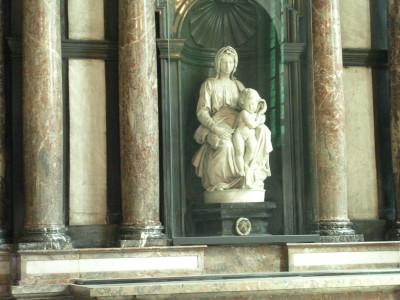 Michelangelo's Madonna & Child