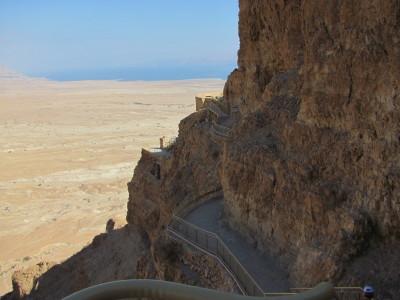 Hanging Palace at Masada