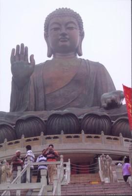 Buddha at Po Lin Monastery