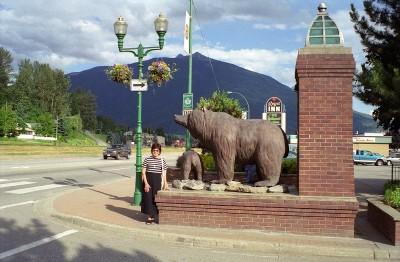 Mountain & Town Entrance
