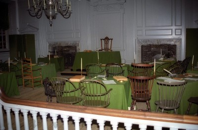 Where Declaration of Independence was Discussed