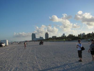 On South Beach