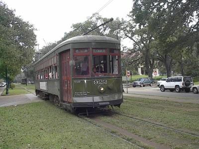 St Charles Avenue Streetcar