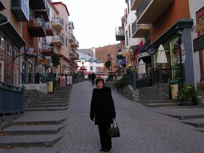 A Pedestrian-only Street
