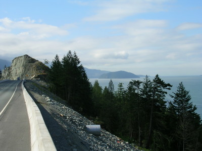 On the Sea to Sky HIghway
