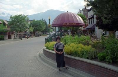 Adorable Town Plaza