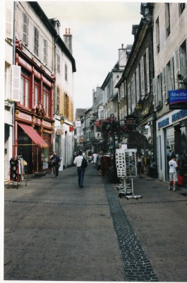 Café-lined Street