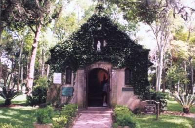 Chapel near Ponce de Leon's landing site