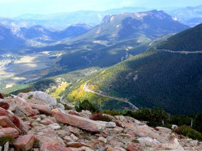 Trail Ridge Road Vista