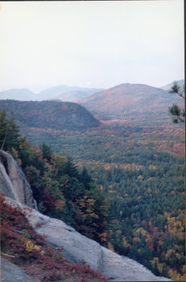 View from Cathedral Ledge