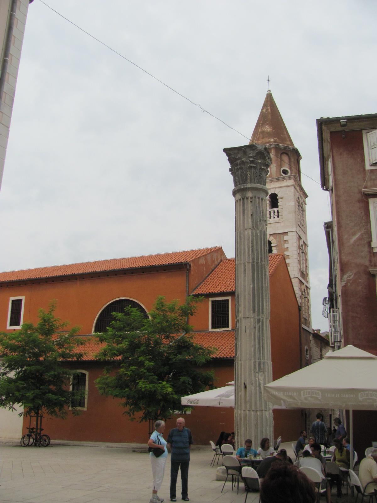 Roman Column & St Simeon's Church