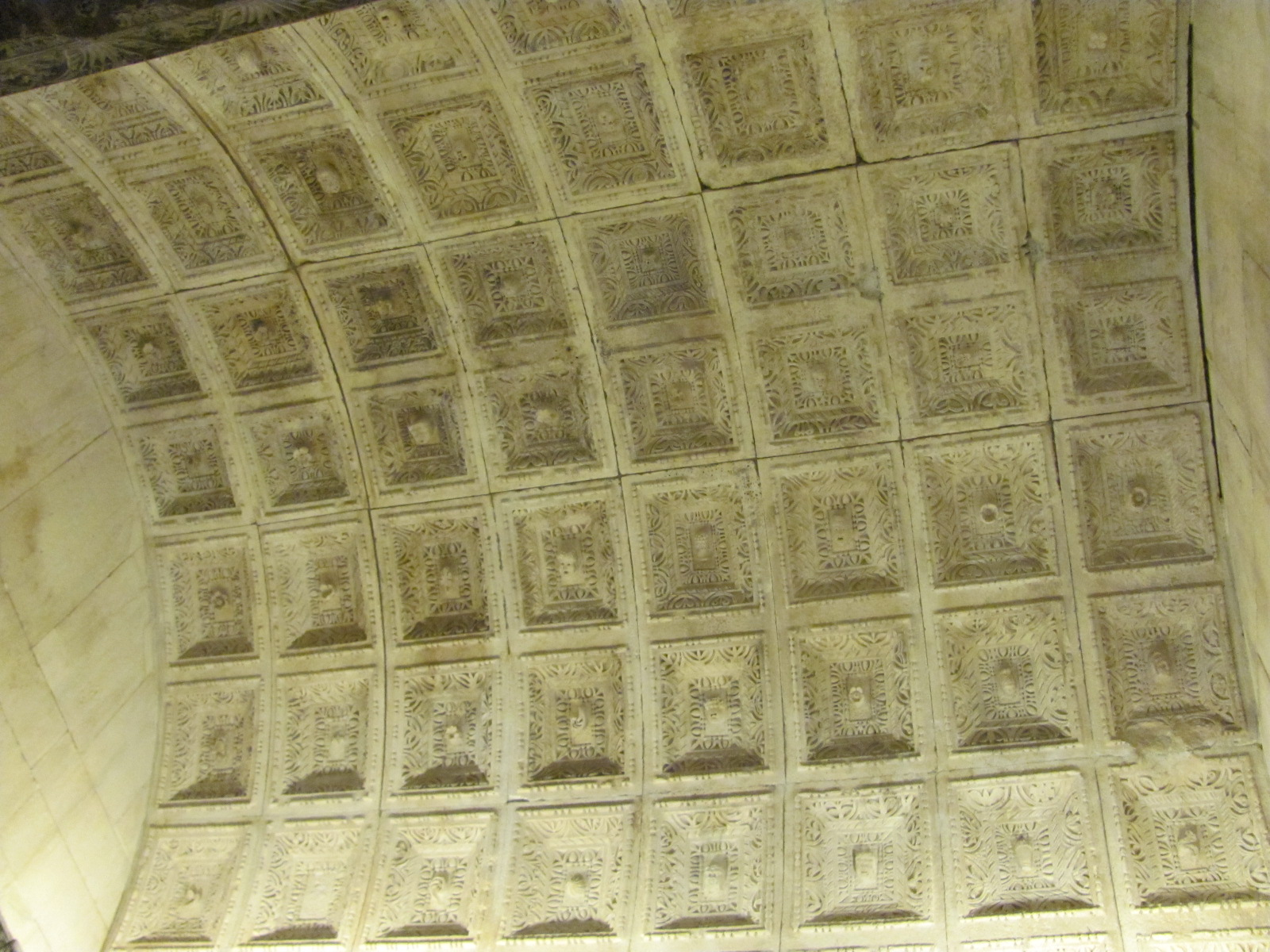 Ceiling of Temple of Jupiter