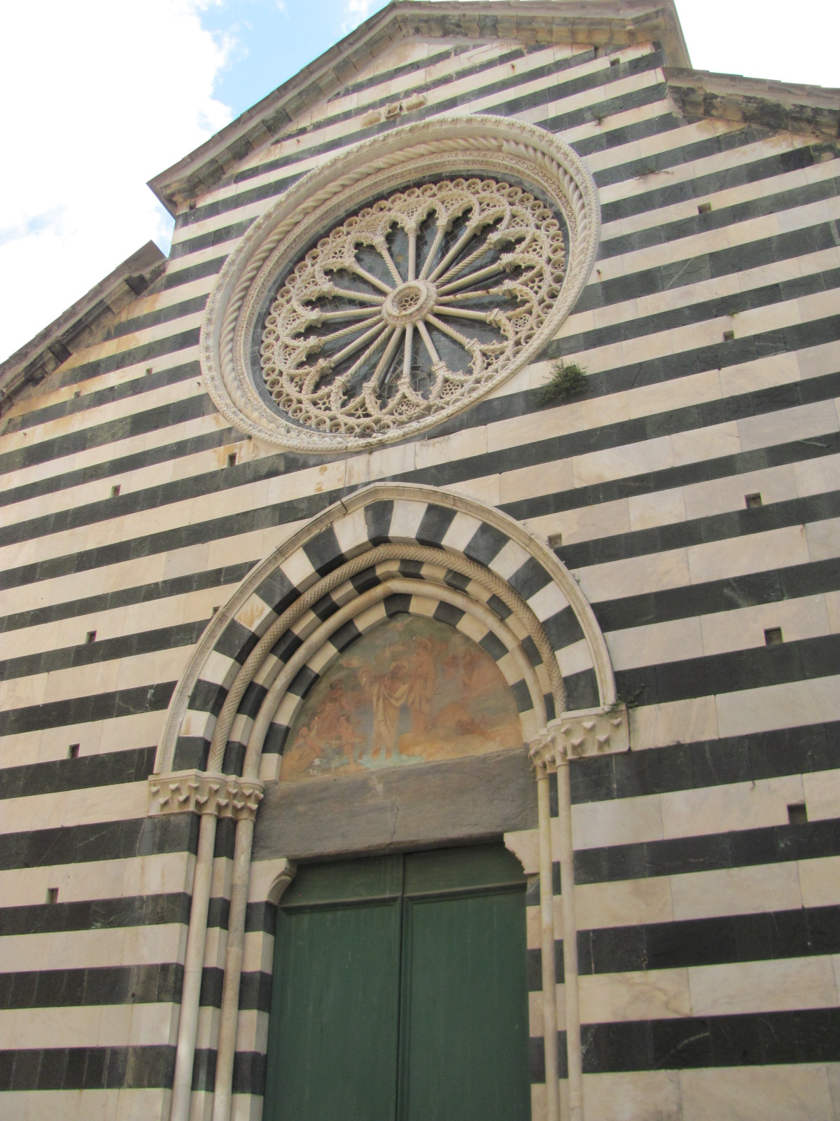 Monterosso's Cathedral