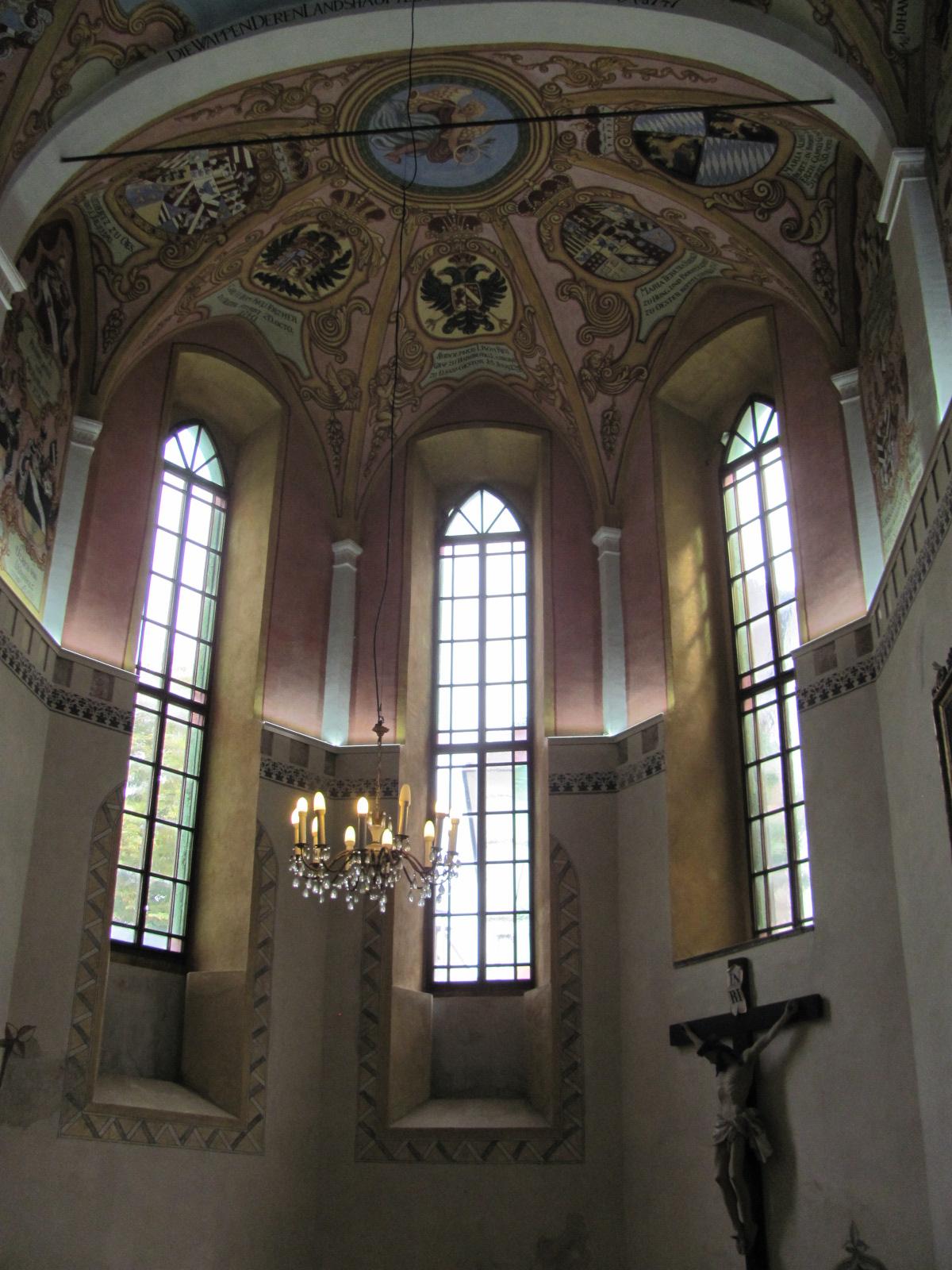 Inside St George's Chapel